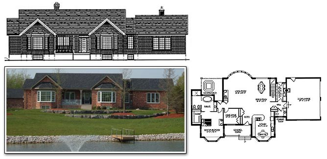 view sample drawing set about free house plans - Drawing For Home